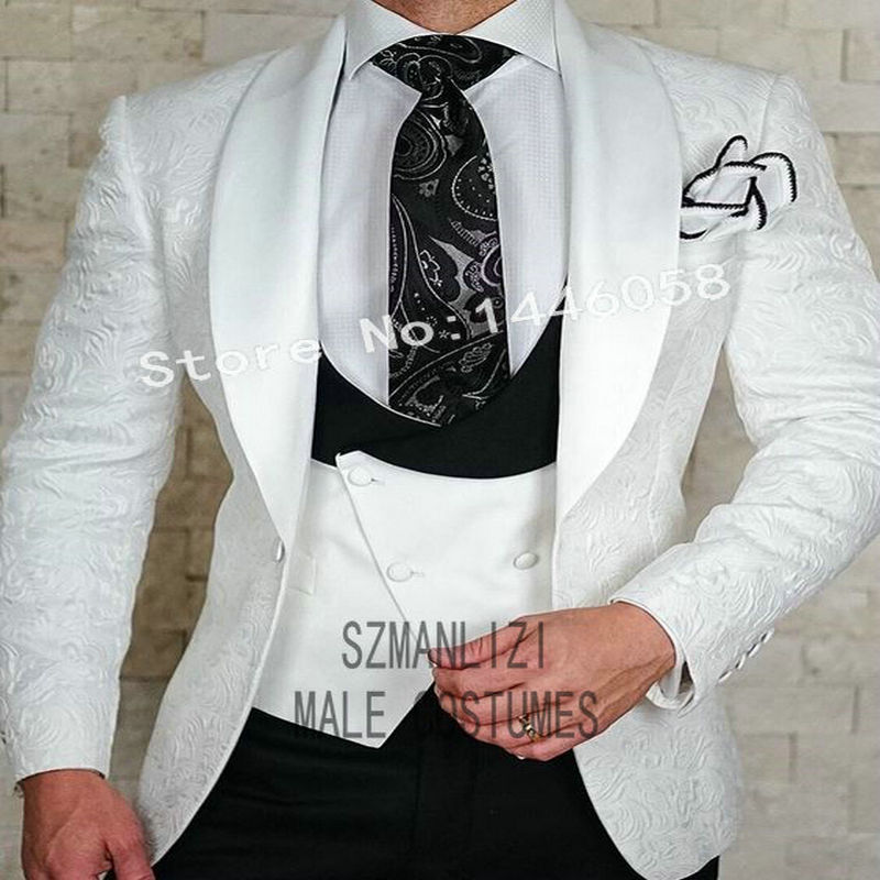 2019 Fit Nuziale Sposa Bianco Sposo As Szmanlizi Usura Per as Di Smoking La  Picture Cerimonia Disegni Blazer Convenzionale Nuovi Uomo Slim Best Da ... 4ca5ddca629
