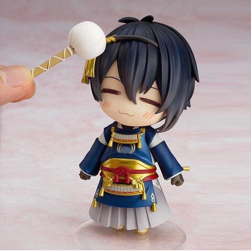 Free Shipping 4 Touken Ranbu Online Anime Kashuu Kiyomitsu Boxed 10cm PVC Action Figure Model Collection Doll Toys Gift