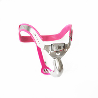 Men's T4 Y Type Adjustable Chastity Belt Underwear Cock Cage Invisible Male Chastity Device Panty With Anal Plug Bondage Kits