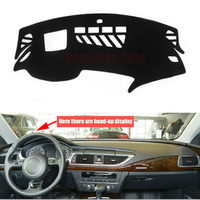 Fit For Audi A7 S7 With GPS Car Dashboard Avoid Light Pad Instrument Platform Desk Cover