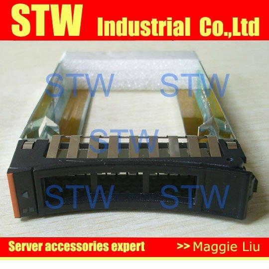 "Server HDD tray 44T2216 2.5"" SFF SAS HDD Tray Caddy for X3400M2 X3500M2 X3650M2 X3550M3 X3650M3 , Retail,  with screws"