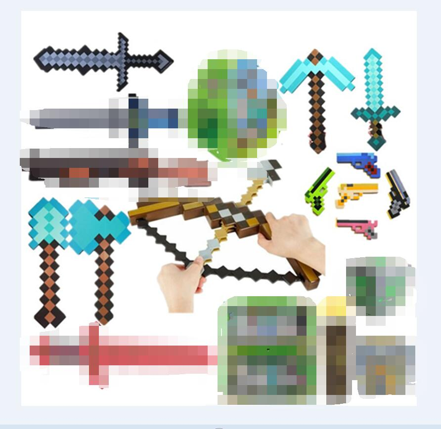 Cool Weapons Toys Minecraft Sword Colorful EVA Toys Knight Of The - Minecraft spiele arten