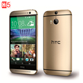 "Original HTC One M8 Unlocked Mobile Phone Quad-core GSM 3G&4G Android RAM 2GB 5.0"" WIFI GPS 4MP 16GB 3 Cameras free shipping"