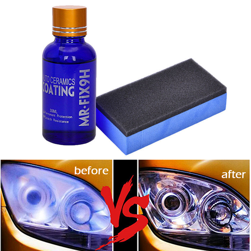 Bright 3pcs Car Headlight Restorer Headlamp Autocare Polish Light Cleaning Lamp Lense Brightener Kit For Auto 10.5oz Excellent Quality Automobiles & Motorcycles