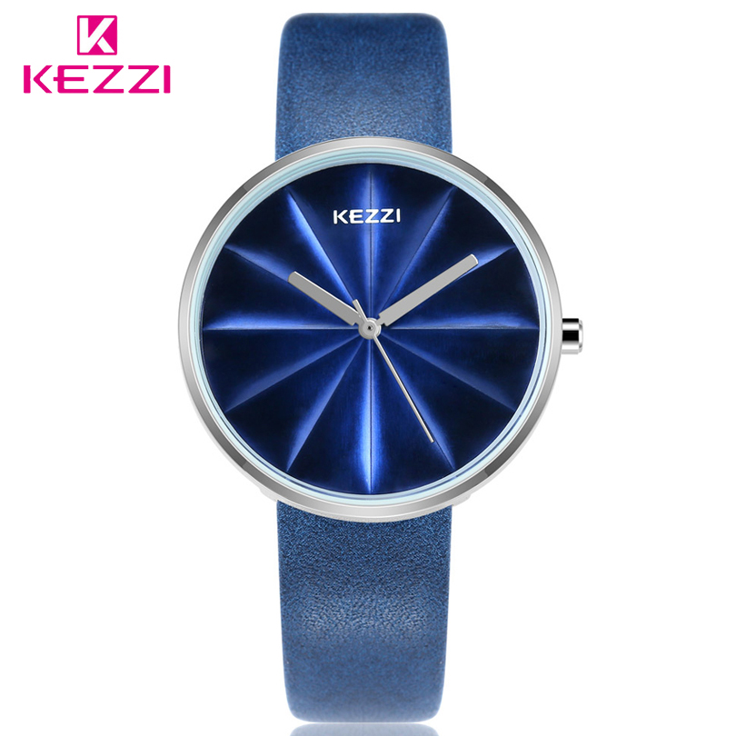 KEZZI Woman Watches Luxury Brand Quartz Watches Ladies Watch Women Fashion&Casual Wristwatch Leather Girl Watch Relogio Feminino relogio feminino sinobi watches women fashion leather strap japan quartz wrist watch for women ladies luxury brand wristwatch