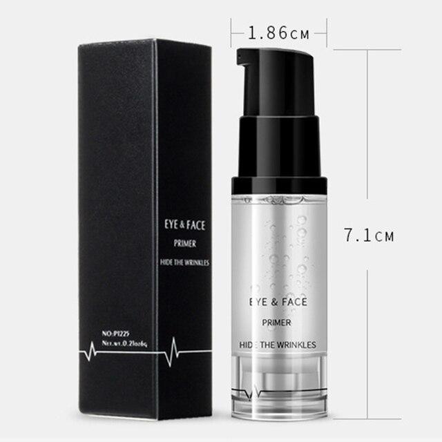 BGVfive8ml Women Girls Eyeshadow Face Primer Base Foundation Lotion Cream Anti Wrinkle Makeup Gel Eye Concealer Cream 3