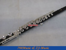 African Blackwood Grenadilla Flute-B foot-Open Hole-Split-E-Inline-G-Body Diameter 25.5mm-NO.6 j b vanhal flute concerto no 2 in b flat major