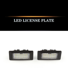 For 12 - 16 year Audi a6lc7 09 a5 a7 Q3 q5 TT license plate lamp led white light assembly