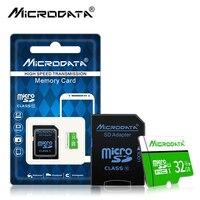 Горячая Распродажа Class 10 32 ГБ Microsd 4 ГБ 8 ГБ 16 ГБ tarjeta micro sd карты памяти 32 ГБ 64 ГБ 128 ГБ micro sd Card картао де memoria + адаптер