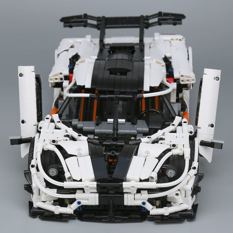 Image 2 - Ship From Spain DHL 23002 Technic Series The MOC 4789 Changing Racing Car Children Building Blocks Bricks Kids Toys Cars Model-in Blocks from Toys & Hobbies