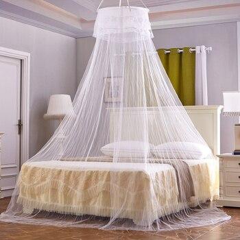 Элегантный висящий купол сеть от комаров для лета полиэфирная сетка фабричный Текстиль для дома оптом запас аксессуары товары