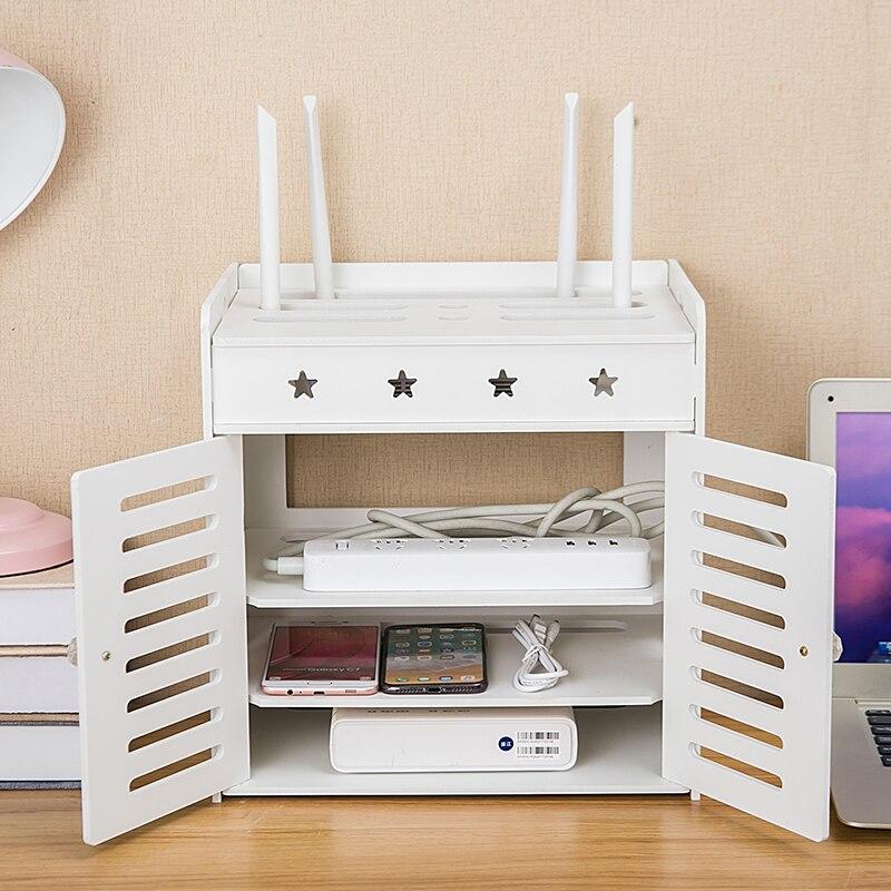 Dekoration Router Europa Abschirmung Wifi Wohnzimmer Buchse Schrank Abdeckung Regal Stacks Lagerung Rack Tv Set-top Box