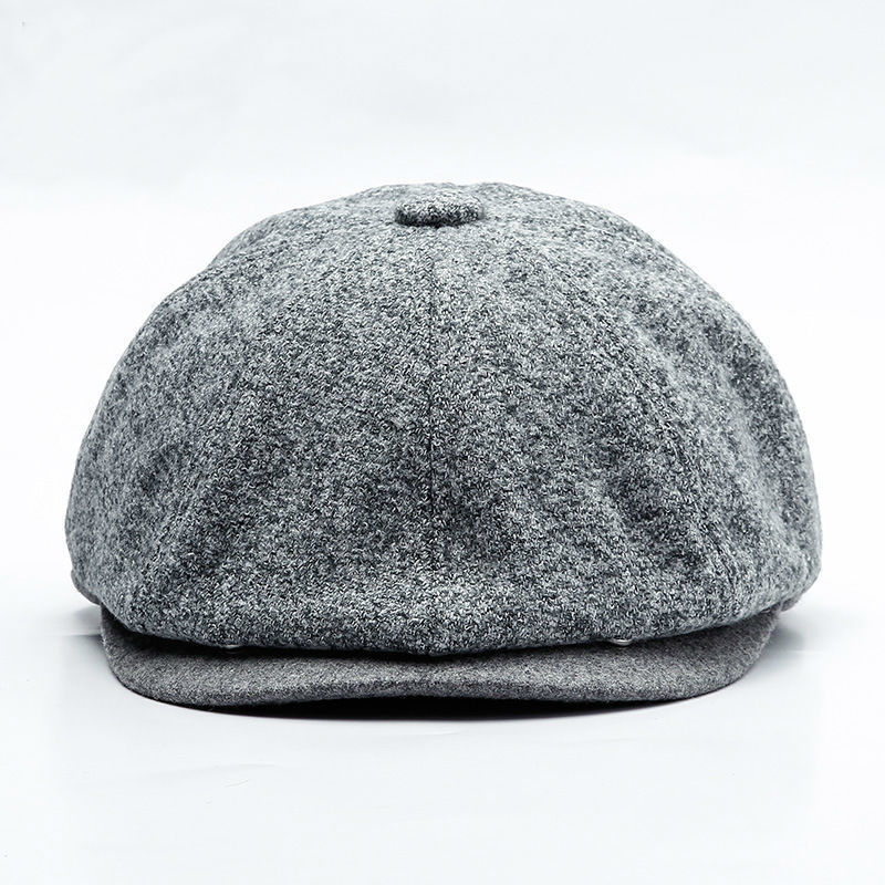 Beret-Caps Newsboy-Cap Ctagonal-Hat Autumn Male Winter Man And 60cm 58cm Top-Grade Big-Head