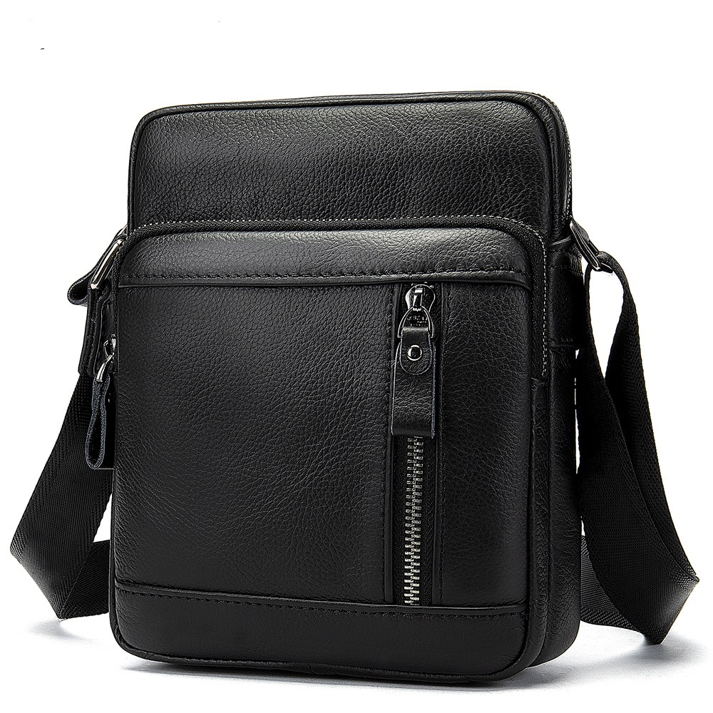 8028 New Fashion Top Cowhide Leather Bags Men Stylish Simple Vertical Style Retro Multifunctional Crossbody Bag8028 New Fashion Top Cowhide Leather Bags Men Stylish Simple Vertical Style Retro Multifunctional Crossbody Bag