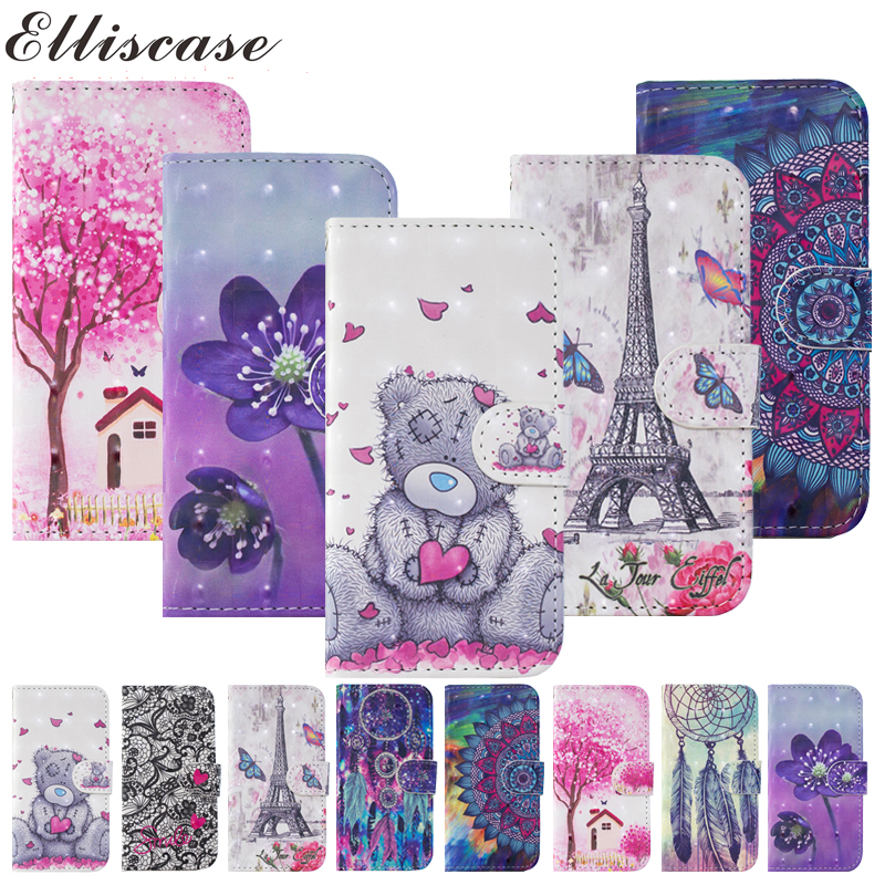 Flip Book <font><b>Case</b></font> For Etui <font><b>Sony</b></font> Xperia <font><b>L3</b></font> Luxury Panda Leather Wallet Phone Cover For Soni <font><b>Experia</b></font> <font><b>L3</b></font> I3312 I4312 I4332 <font><b>Case</b></font> Coque image