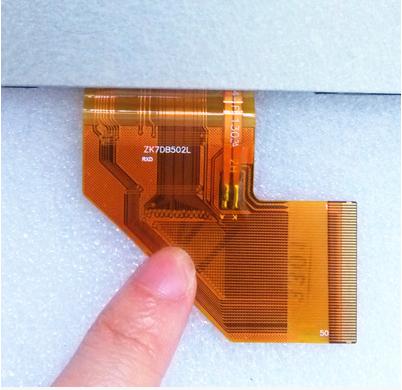 Original 7 polegada tablet telas de LCD zk7db502l frete grátis