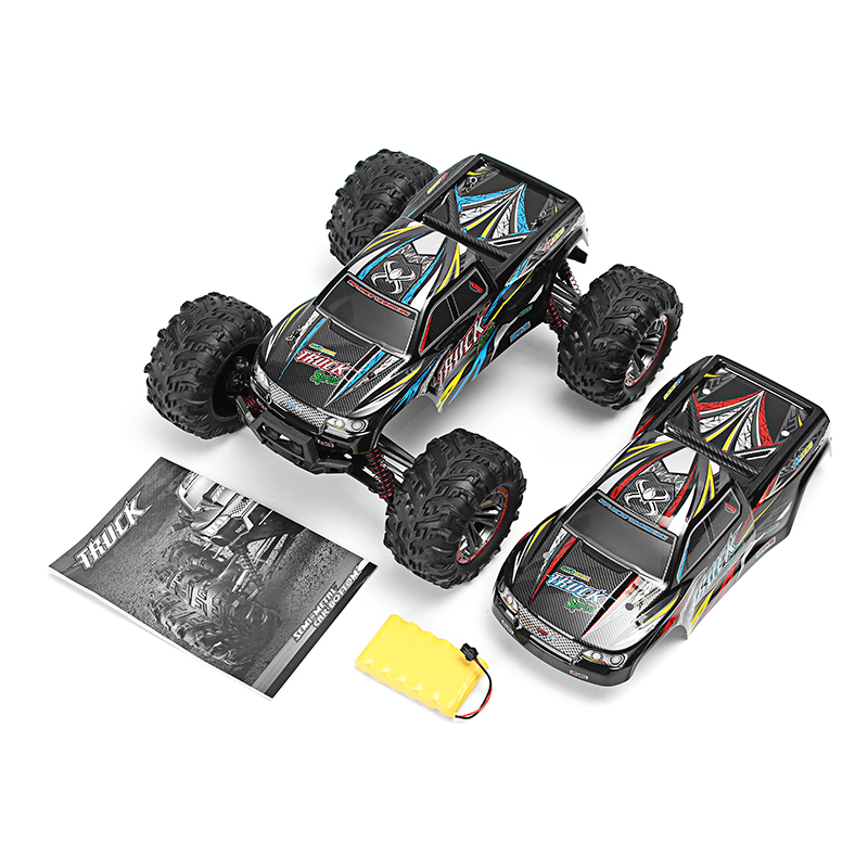 XinleHong 9125 1/10 2.4G 4WD 46km/h 60A High Speed RC Car Remote Control Cars Waterproof Off-Road Vehicle Buggy Electronic Toy