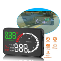 X6 HUD Head Up Display Car OBD II Interface Windshield Projector HUD Vehicle Electronic Car Display Speedometer Hud Display