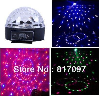 Venta LED Bola Magica 6X3W 18X6 LED čočka KTV Bares Discotecas Hoteles Etapa Partido Hogar Tienda Eventos Fiestas Led Efectos Luz