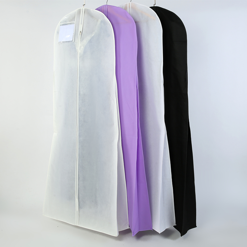 Length 180cm For Wedding Dress Bag Clothes Cover Dust Cover Garment Bags Bridal Gown Bag For Mermaid Wedding Dress Cover M0804(China)