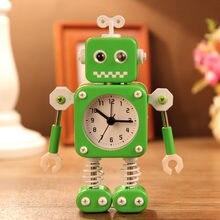 Робот будильник деформационный креативный маленький декоративный