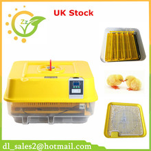 Full automatic egg incubator adjustable egg tray high hatching rate LED display germany stock