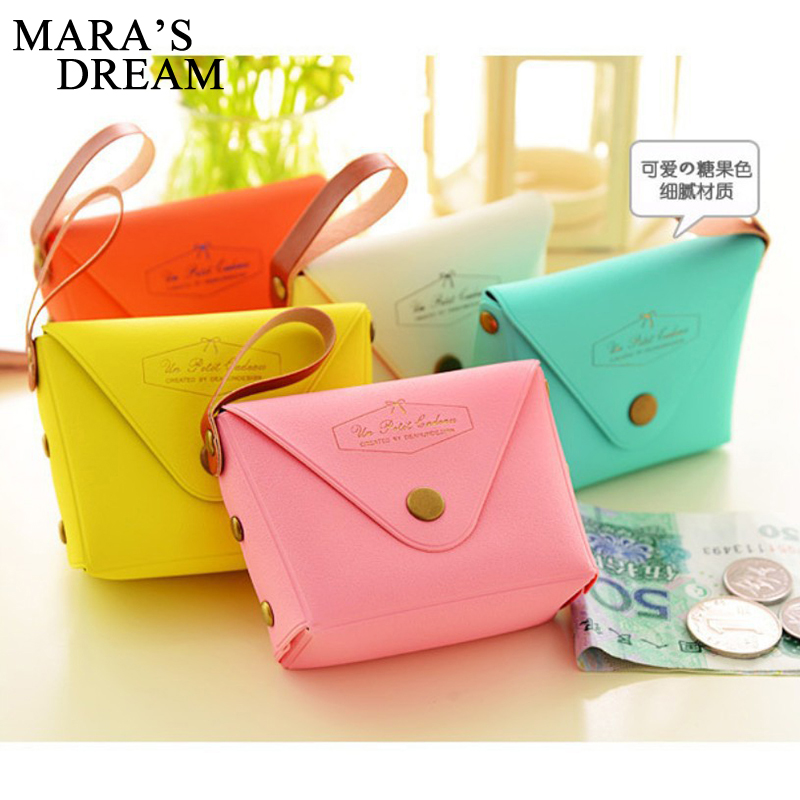 Mars's Dream New Women Coin Purses Cute Girl Mini Bag Key Ring Case PU Leather Zipper Wallet Lovely cash Pouch Change Purse fashion women coin purses dots design mini girl wallet triple zipper clutch bag card case small lady bags phone pouch purse new