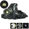 2000Lm Headlight XML T6 Led  Zoom Headlamp Head Lamp Light Outdoor Lanterna frontal led  For Camping Hiking