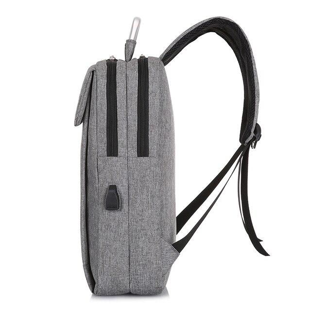 HEFLASHOR Anti-vol Usb sac à dos 2019 affaires grande capacité sac à dos hommes femmes sac d'école voyage sac à dos étudiant sac 2