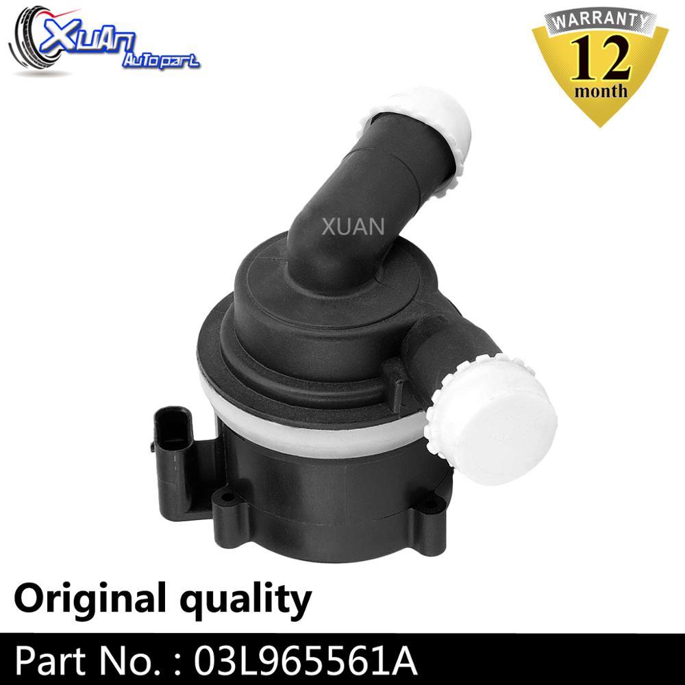 XUAN refroidissement supplémentaire pompe à eau auxiliaire 03L965561A pour AUDI A4 A5 A6 Avant B8 Volkswagen Amarok 2008-2018