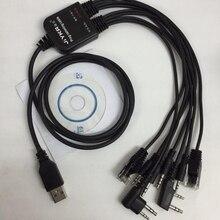 2019 최신 USB 커넥터 워키 토키 프로그램 케이블 사용 baofeng Kenwood Icom hytera motolora 프로그램 케이블