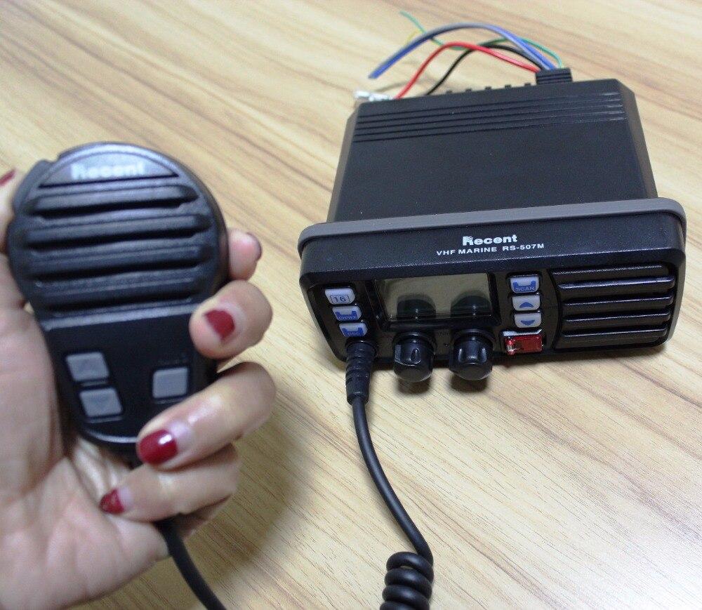 25 W Étanche Marine Talkie Walkie mini CB radio RS-507M Double/Tri-montre VHF émetteur-récepteur Intégré DSC GPS récepteur 88 Canaux