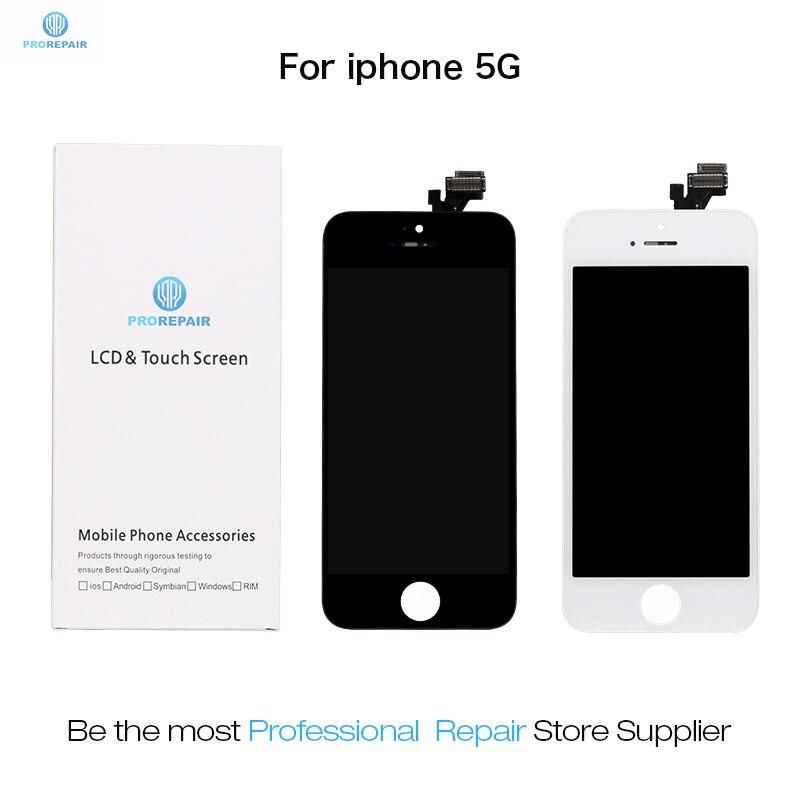 Proréparateur ui-take écran pour iPhone 5 LCD affichage écran tactile numériseur assemblée remplacement