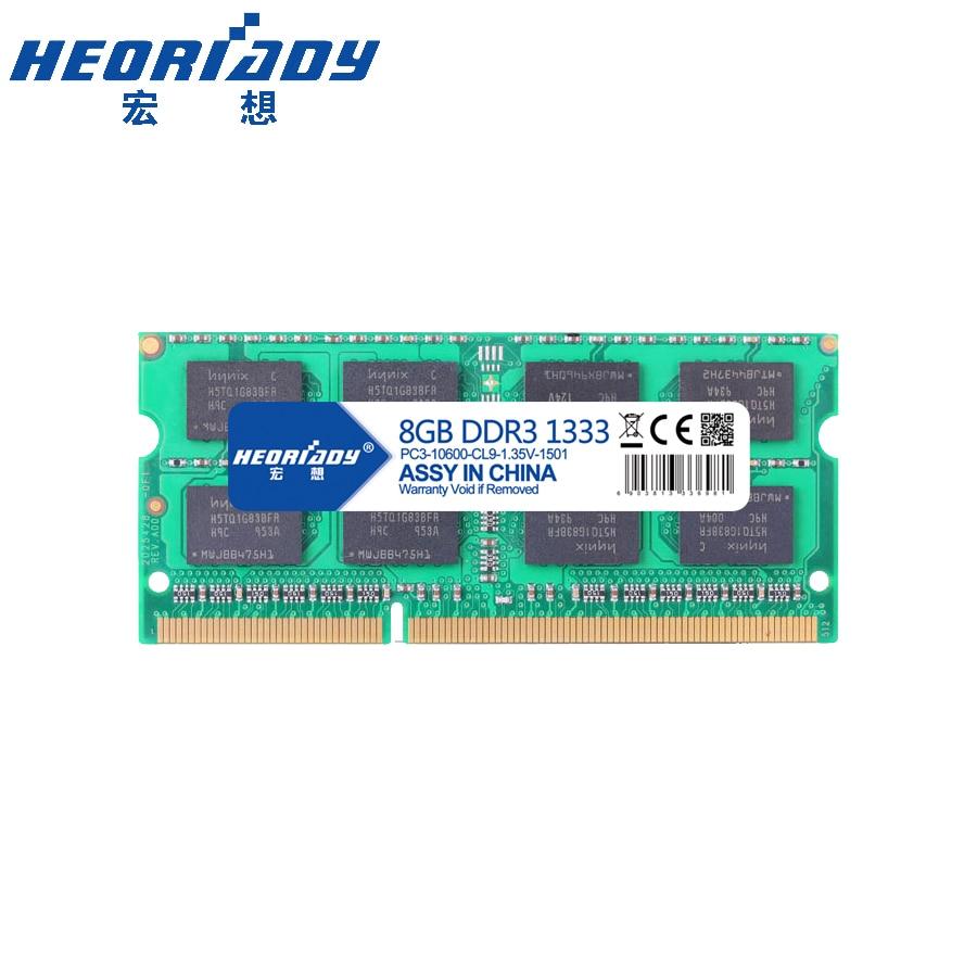 Тетрадь ОЗУ ddr3 8 ГБ 1333 мГц 1,35 В памяти ноутбука совместимость 4 ГБ 1333 мГц 2 ГБ 1600 мГц