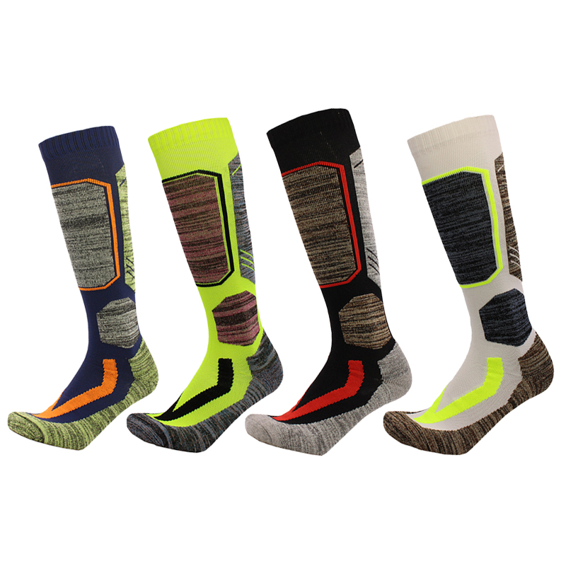Snowboard Skiing Sports Sock Winter Warm Sock Cotton Thermal Breathable Men Women Outdoor Football Ski Camping Cycling Sock 30