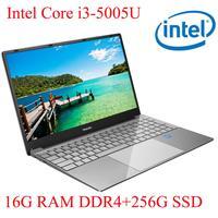 עם התאורה האחורית ips P3-08 16G RAM 256G SSD I3-5005U מחברת מחשב נייד Ultrabook עם התאורה האחורית IPS WIN10 מקלדת ושפת OS זמינה עבור לבחור (1)