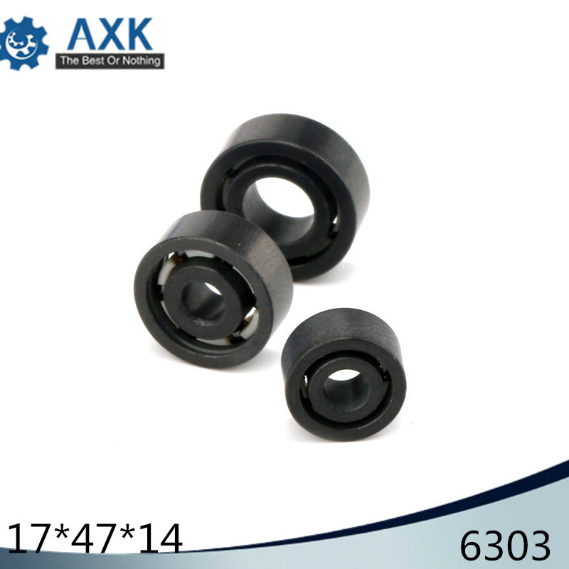 6303 Full Ceramic Bearing ( 1 PC ) 17*47*14 mm Si3N4 Material 6303CE All Silicon Nitride Ceramic Ball Bearings