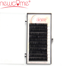 Newcome 12 rows/tray lashes extension for professional ,lashes natural,individual silk volume Eyelash Extension