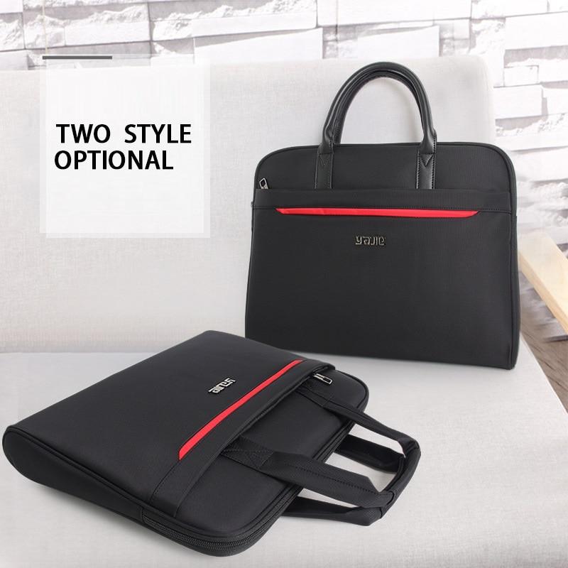 Brand Lightweight Briefcase Men Women 14 Inch Laptop Business Handbag For Men Waterproof Oxford Briefcase