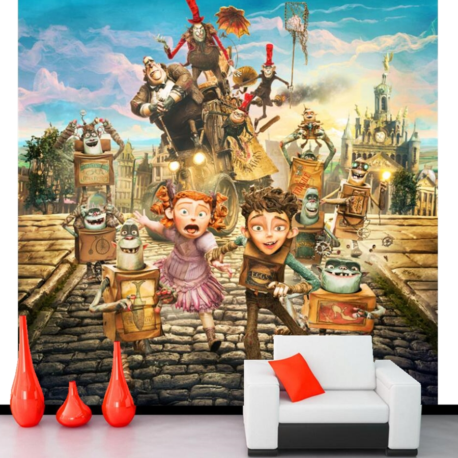 Custom 3D large mural,Personalized character cartoon wallpaper papel de parede,living room TV wall bedroom children 3d wallpaper 3d stereoscopic large mural custom wallpaper living room tv backdrop wall paper bedroom wall painting cartoon film kung fu panda
