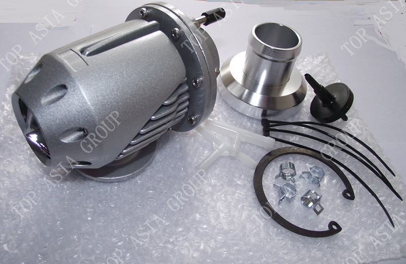 Universal Silver SQV SSQV 2 Bov Turbo Blow Off Valve Bov with Adapter Flange SILVER