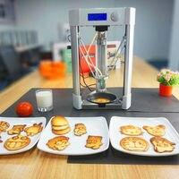 1pc Delta Type Home Used Desktop Food 3D Printer, Pancake Making 3D Printer Machine