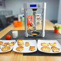 Inicio usado de escritorio de alimentos de la máquina impresora 3D