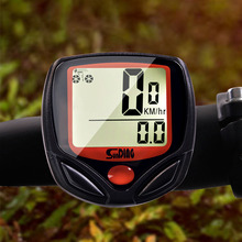 LCD Digital Display Wired Stopwatch Waterproof Bicycle Speedometer Mountain Bike Computer With Cable Ties Cycling Accessories цена