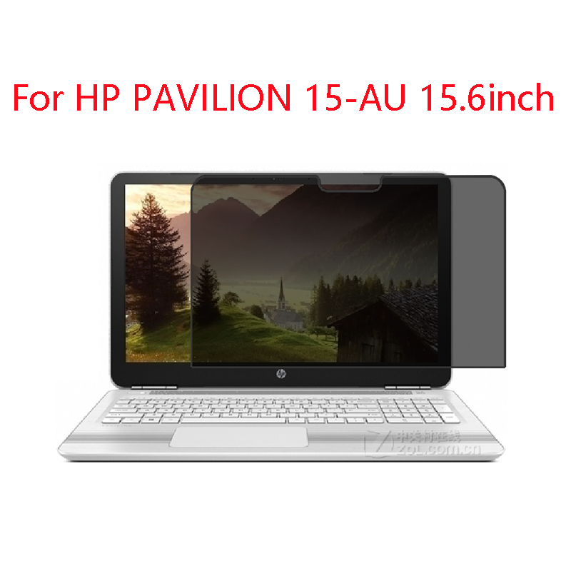 For HP PAVILION 15 AU 15.6inch laptop screen Privacy Screen Protector Privacy Anti Blu ray effective protection of vision