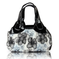 Fashion Women Handbag Printed Flowers Ladies Messenger Bag 2018 Designer Luxury Brand High Quality Leather Ladies