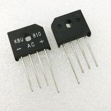 10 шт./лот KBU810 KBU-810 8A 1000 В диодный мост выпрямитель новое и оригинальное IC