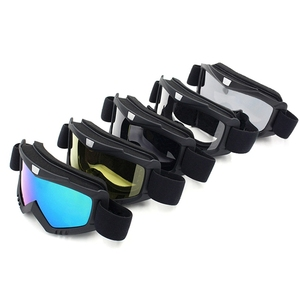 Image 3 - Safety Goggles Face Mask Windproof Dustproof UV protection Eyewear Mask Removable Bicycle Motorcycle Tactical Goggles Masks