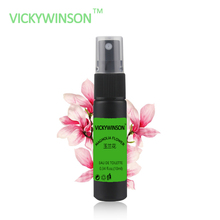 Купить с кэшбэком VICKYWINSON Magnolia flower fragrance 10ml Deodorant Spray Antiperspirant Spray Eliminate Sweat & Odor Body Cleansing XS29