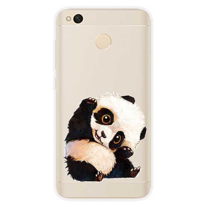 Силиконовый чехол для Xiaomi Redmi 4x чехол 5,0 печать милые животные чехол для xm Xiomi Redmi 4x чехол для Redmi 4 x Redmi4X телефон чехол s
